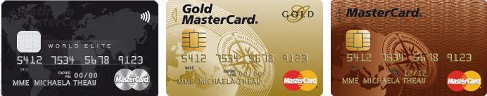 Carte Bancaire Gold Credit Mutuel.Cartes De Credit Mastercard