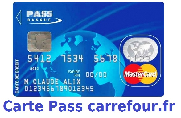 Carte Carrefour Banque Accord.Carte Pass De Carrefour Banque