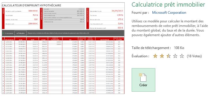 Modele Excel Pour Simulation Ou Suivi De Credit Emprunt Pret