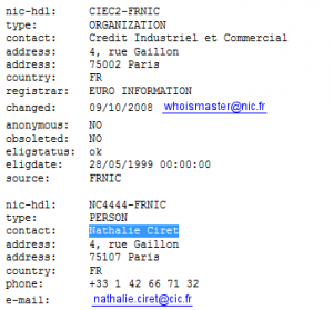 whois cic