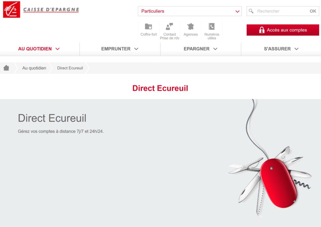 Service Direct Ecureuil